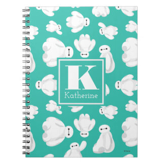 Baymax Green Classic Pattern Note Books