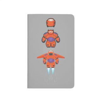 Baymax Orange Super Suit Journals