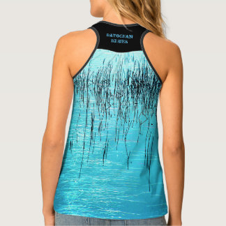 Bayocean Blues by Aleta Tank Top