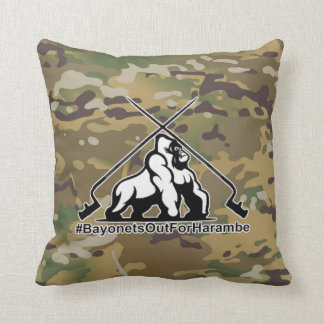 Bayonets out for Harambe Pillow