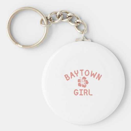 Bayonne Pink Girl Keychain