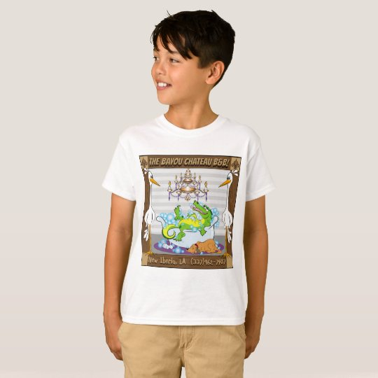 Bayou Chateau, B7B in New Iberia,LA T-Shirt