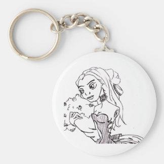 Bayou Doll Keychain