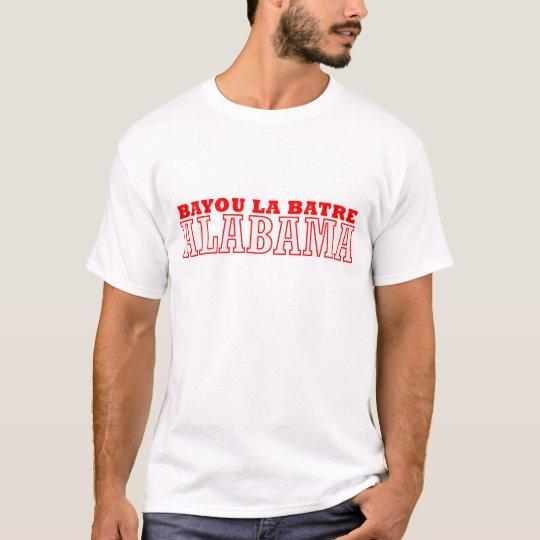 Bayou la Batre, Alabama City Design T-Shirt