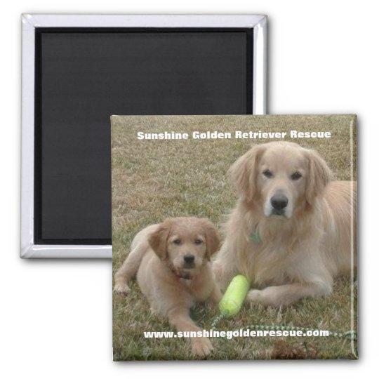 Bayou Magnet - Sunshine Golden Retriever Rescue...