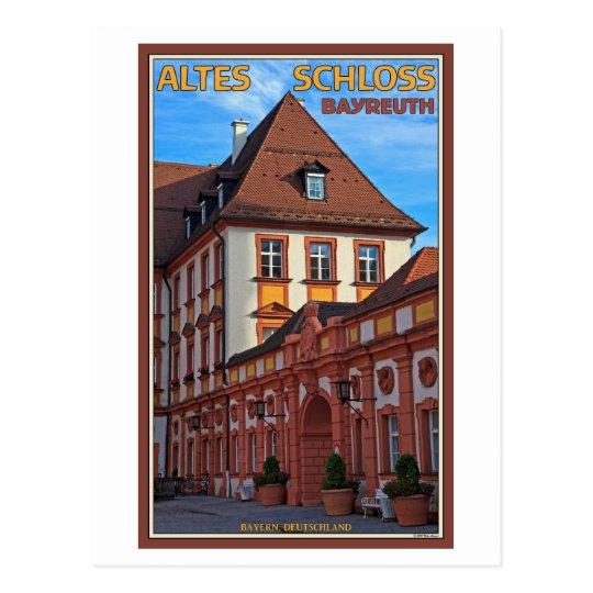 Bayreuth - Altes Schloss Postcard