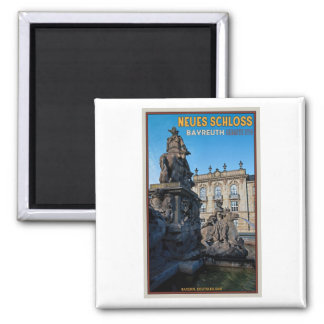 Bayreuth - Neues Schloss Square Magnet
