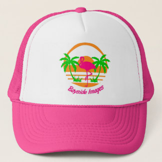 BAYSIDE IMAGES PINK FLAMINGO CAP