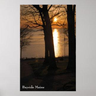 Bayside Maine Poster - 2