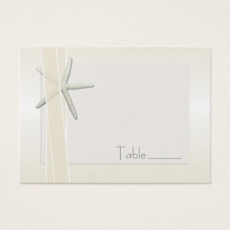 Bayside Starfish Wedding Escort / Seating Cards
