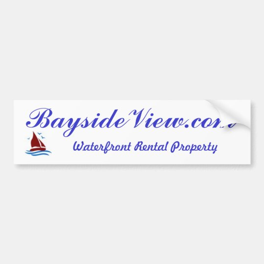 BaysideView.com bumper sticker