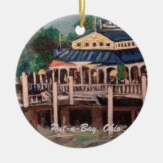 Bayview Avenue, Put-n-Bay, Ohio Ornament