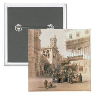 """Bazaar of the Coppersmiths, Cairo, from """"Egypt and Button"""