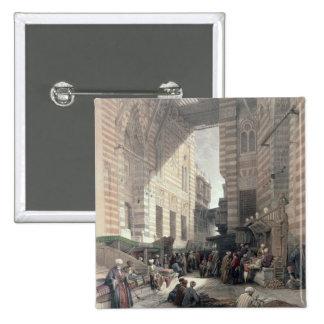 """Bazaar of the Silk Merchants, Cairo, from """"Egypt a Button"""
