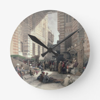 """Bazaar of the Silk Merchants, Cairo, from """"Egypt a Round Clock"""