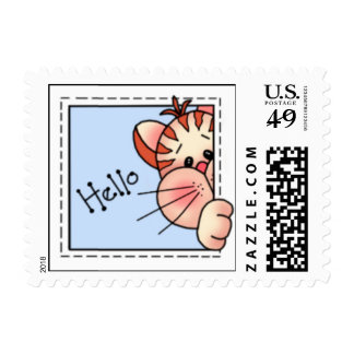 BaZooples Kitty-Kitty Postage Stamps