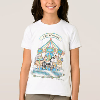 "BaZooples ""Life's A Carousel"" Child's T-Shirt"