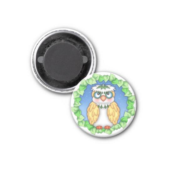 "BaZooples ""Oscar"" Owl Magnet"