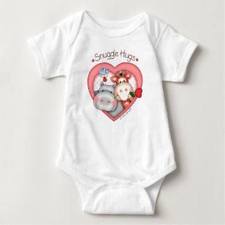 """BaZooples """"Snuggle Hugs"""" Baby Onsie T Shirt"""
