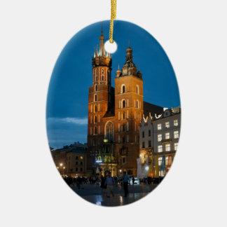 Bazylika Mariacka, Church of Our Lady of the Assu Christmas Ornament