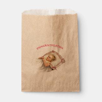 BB BABY NEW BORN  CARTOON  bag Kraft Favor 2