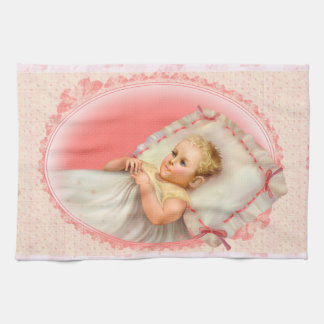 BB BABY NEW BORN  CARTOON  Linen with crockery Tea Towel