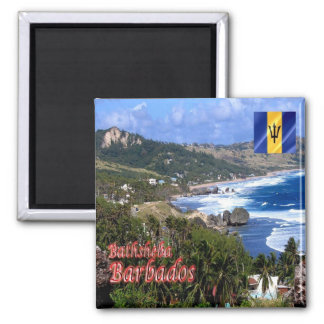 BB - Barbados - Bathsheba Magnet
