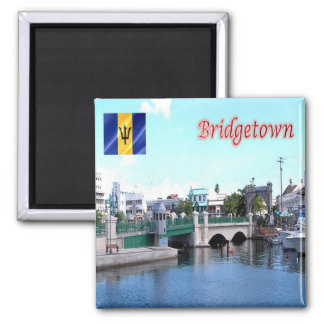 BB - Barbados - Bridgetown Magnet