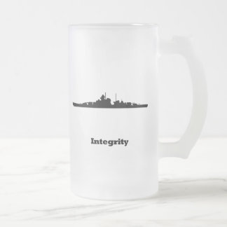 BB Integrity Frosted Glass Mug