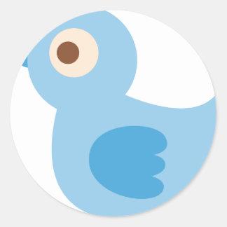 BBabyShowerP12 Round Sticker