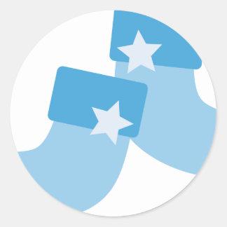 BBabyShowerP1 Round Sticker