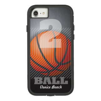 BBall #2 on black Case-Mate Tough Extreme iPhone 8/7 Case