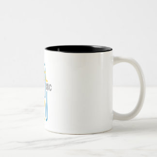 "BBC ""Le mug"" Two-Tone Coffee Mug"