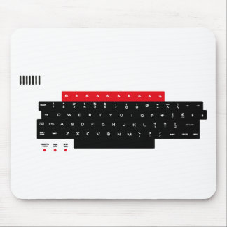 BBC Micro Keyboard Keys Mouse Mat