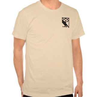 BBC Micro Owl - Small Black T Shirt