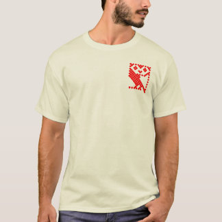 BBC Micro Owl - Small Red T-Shirt