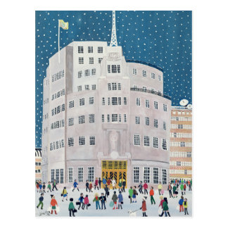 BBC's Broadcasting House Postcard