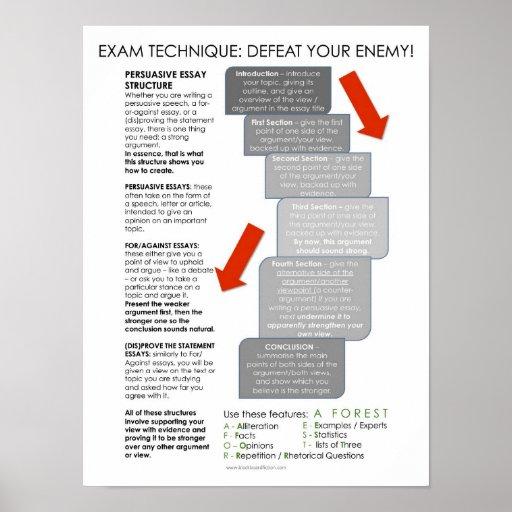 eight legged essay structure