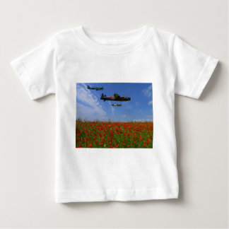 BBMF and poppies Baby T-Shirt