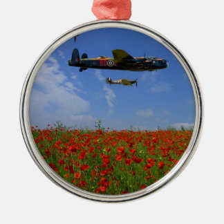 BBMF and poppies Christmas Ornament