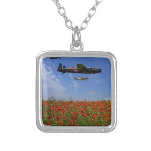BBMF and poppies Custom Necklace