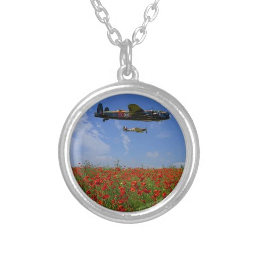 BBMF and poppies Necklaces