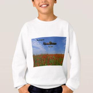 BBMF and poppies Sweatshirt
