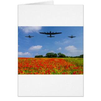 BBMF Poppy flypast Card