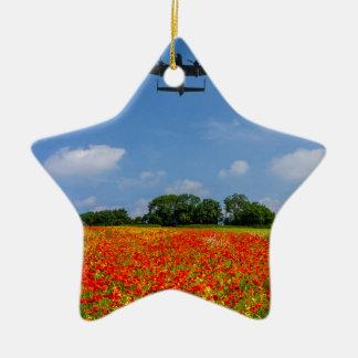 BBMF Poppy flypast Christmas Ornament