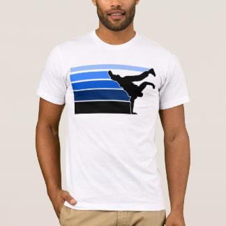 BBOY gradient blu blk T-Shirt
