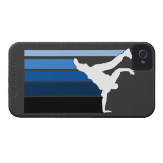 BBOY gradient blu/wht iPhone 4 case