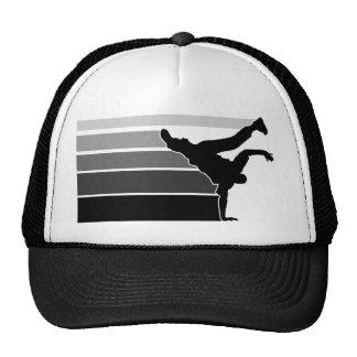 BBOY gradient grey blk hat