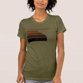 BBOY gradient orange wht T-shirts