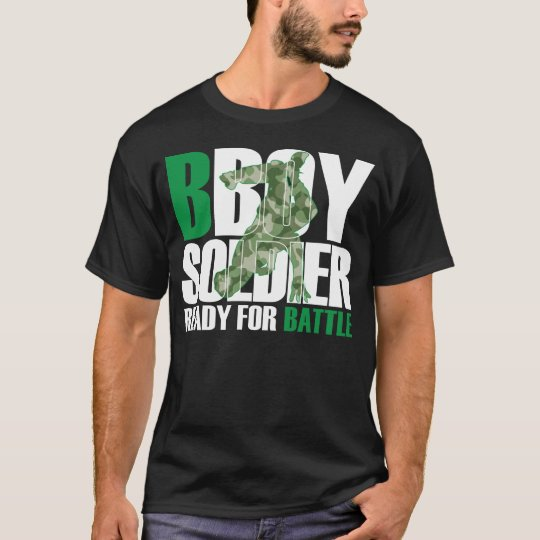 BBoy Soldier Black Shirt